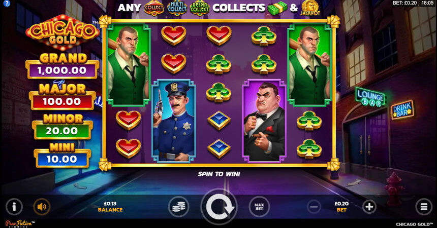 Chicago Gold Slot Screenshot